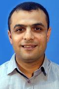 """ד""""ר איאד ח'מאיסי (צילום: פיוטר פליטר-יח""""צ)"""