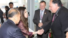 """ביקור הנסיכה התאלינדית לחתימת שיתוף פעולה בתחום הסרטן בין רמב""""ם לתאילנד (יח""""צ רמב""""ם)"""
