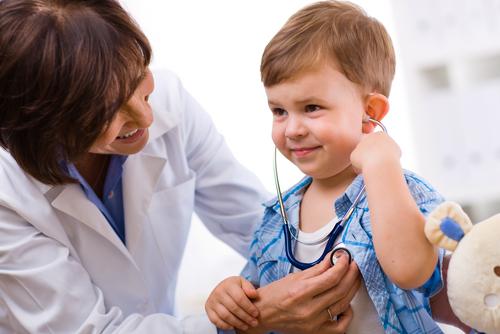 רופא ילדים (אילוסטרציה)