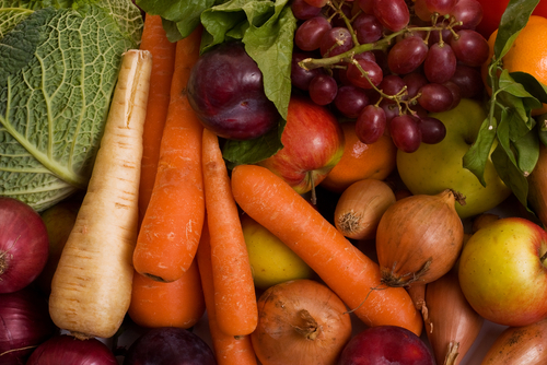 ירקות ופירות (אילוסטרציה)