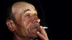 קשיש מעשן (אילוסטרציה)