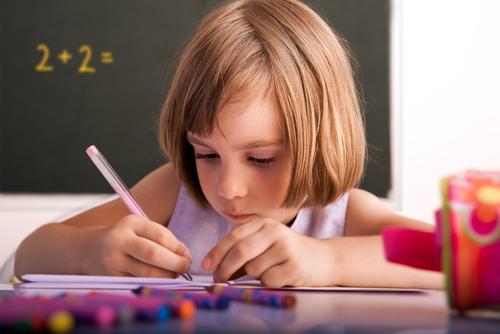 תלמידה (אילוסטרציה)
