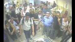 """20110719_מקרה אלימות בחדר המיון ברמב""""ם בחיפה (מתוך וידאו באדיבות דוברות רמב""""ם)"""