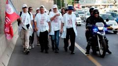 צעדת הרופאים לירושלים. (צילום: נעם וינד)