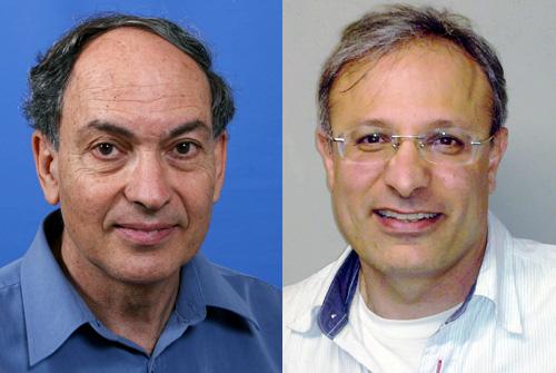 """ד""""ר יונתן קריספל ופרופסור זאב הוכברג (צילום: בי""""ח רמב""""ם)"""