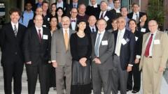 """נציגי רמב""""ם, הטכניון ואוניברסיטת דרום קרוליינה בצילום משותף אחרי חתימת הסכם השת""""פ (צילום: אונ' דר' קרוליינה)"""