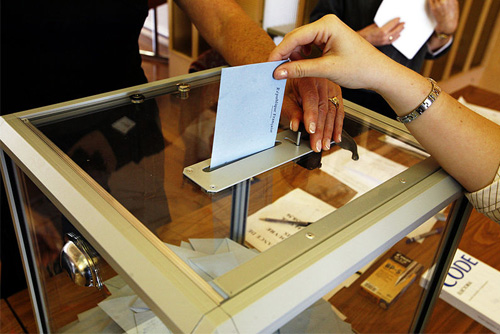 הצבעה בקלפי