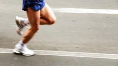 רץ מרתון (אילוסטרציה)
