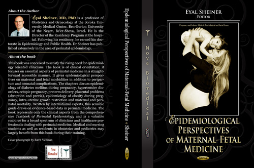 ספר חדש: אספקטים אפידמיולוגים ברפואת האם והעובר