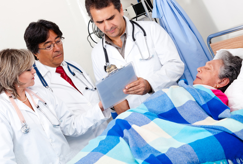 רופאים גריאטריים (אילוסטרציה)