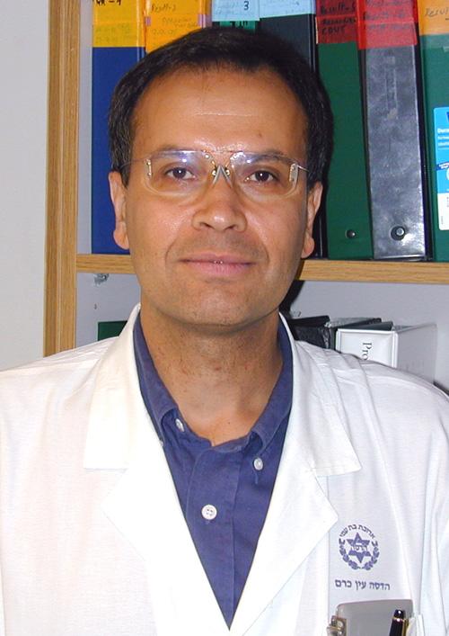 פרופסור בנימין ראובינוף. באדיבות הדסה עין כרם (צילום: אבי חיון)
