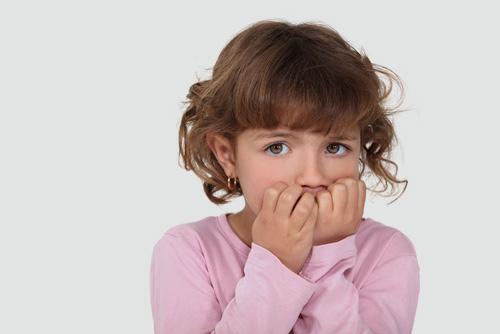 חרדה של ילדים (אילוסטרציה)