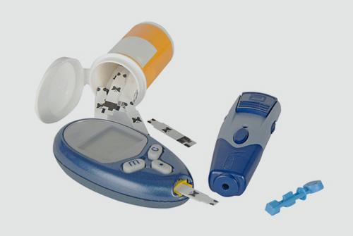 ערכה ביתית לטיפול בסוכרת (אילוסטרציה)