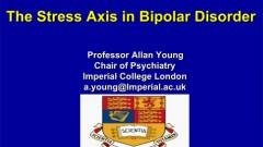 הרצאה על מערכת הדחק בהפרעה דו-קוטבית מפי פרופסור אלן יאנג