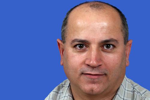 """ד""""ר עאדל אבו סאלח (צילום פיוטר פליטר. באדיבות דוברות רמב""""ם)"""