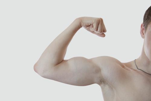 בניית שרירים בקרב מתבגרים (אילוסטרציה)