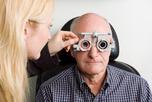 בדיקת עיניים (אילוסטרציה)
