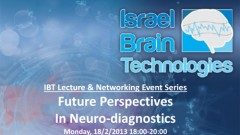 IBT Lecture & Networking Event Series: Future Perspectives In Neuro-diagnostics
