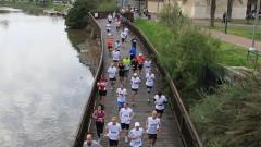 ריצת מרתון תל אביב 2011 לאורך גדת נחל הירקון (מקור צילום: ויקיפדיה)