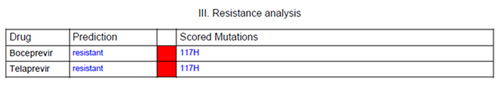 resistance analysis