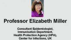 הרצאה של פרופ' אליזבת מילר בנושא חיסונים