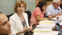 .שרת הבריאות, יעל גרמן, במהלך דיון בוועדת הבריאות בכנסת. אפריל 2013 (צילום: פלאש 90)