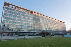 מטה ארגון הבריאות העולמי בז'נווה, מארס 2013.