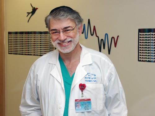 """ד""""ר דוד בר-לב (צילום: שיבא)"""