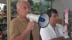 תמונות מכנס המחאה במרכז הרפואי בני ציון
