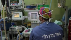 בית החולים ביקור חולים (צילום: יעקב נעומי / פלאש 90)