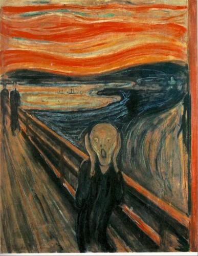 הצעקה (מקור: ויקיפדיה)