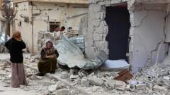הריסות בתים לאחר הפצצת צבא אסד (צילום: אילוסטרציה)