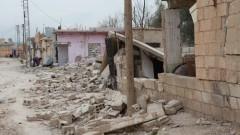 תוצאות הפצצה של משטר אסד, בסוריה (צילום: אילוסטרציה)