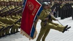 מצעד צבאי בצפון קוריאה, 2012 (צילום: אילוסטרציה)