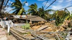 """הרס שהותירה סופת הטייפון """"הייאן"""" בפיליפינים, נובמבר 2013 (צילום: אילוסטרציה)"""