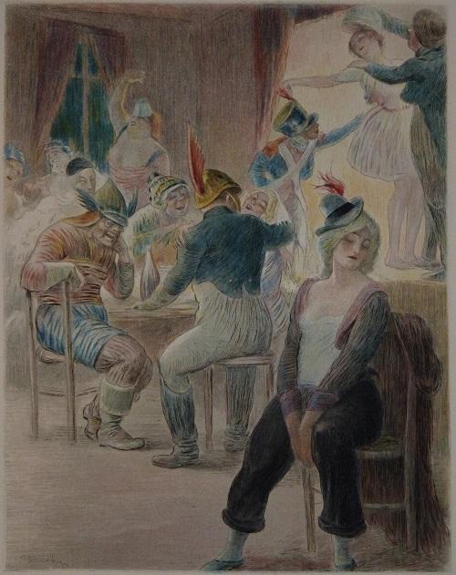 מאדאם בובארי- אילוסטרציה של צ'רלס ליאנדר (מקור: ויקיפדיה)