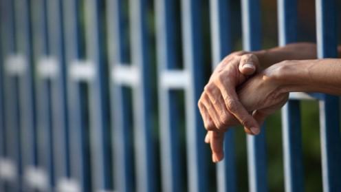 אסיר בכלא (צילום: אילוסטרציה)