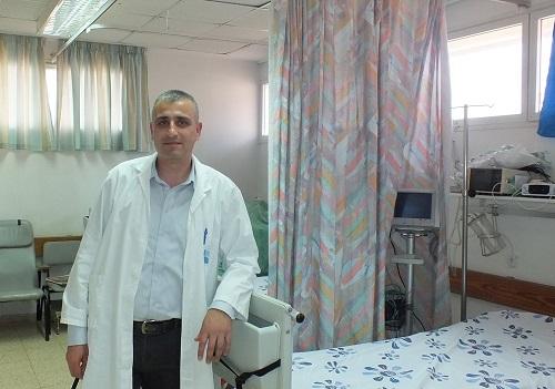 """ד""""ר עימד אבו אלנעאג' (צילום: """"פוריה"""")"""