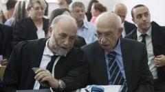 """מנכ""""ל """"הדסה"""" אביגדור קפלן ועו""""ד אשר אקסלרד, במהלך דיון בבית המשפט המחוזי בירושלים בשבוע שעבר (צילום: פלאש 90)"""