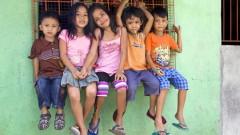 ילדים בפיליפינים, שנחשבת למקור התפרצות של מחלת החצבת בעולם (צילום: אילוסטרציה)