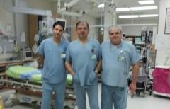 """מימין: ד""""ר יובל קרני, ד""""ר גרגורי שפוליאנסקי ופרופ' דורון קופלמן (צילום: יח""""צ)"""
