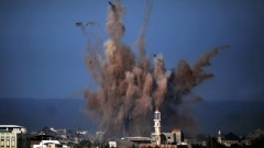 הפצצה בעזה (צילום: אילוסטרציה)