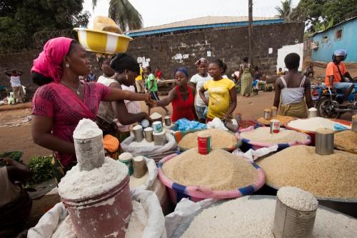 שוק במונרוביה, בירת ליבריה (צילום: אילוסטרציה)