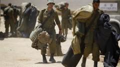 חיילים עוזבים את רצועת עזה (צילום: פלאש 90)