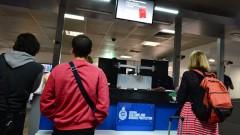 עמדת בקרת גבולות בשדה התעופה של מלבורן, אוסטרליה (צילום: אילוסטרציה)