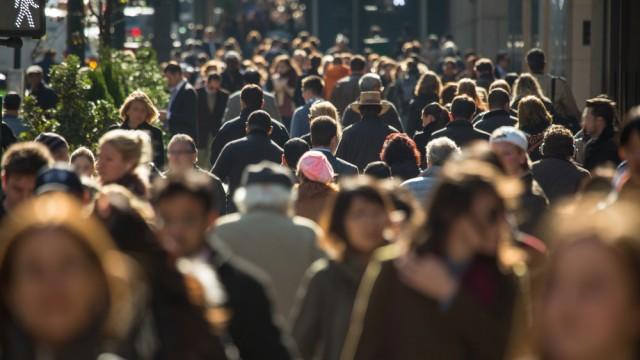 קהל ברחובות ניו יורק (צילום: אילוסטרציה)