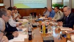 ישיבת ממשלה בנושא התפרצות האבולה (צילום: פלאש 90)