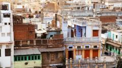 שכונה בהודו (צילום: אילוסטרציה)