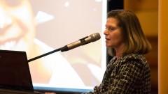 """פרופ' מרים בן-הרוש בכנס פורום ראש-צוואר (צילום: יח""""צ)"""