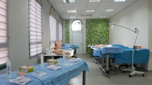 """חדר הסימולציות (צילום: רמב""""ם)"""